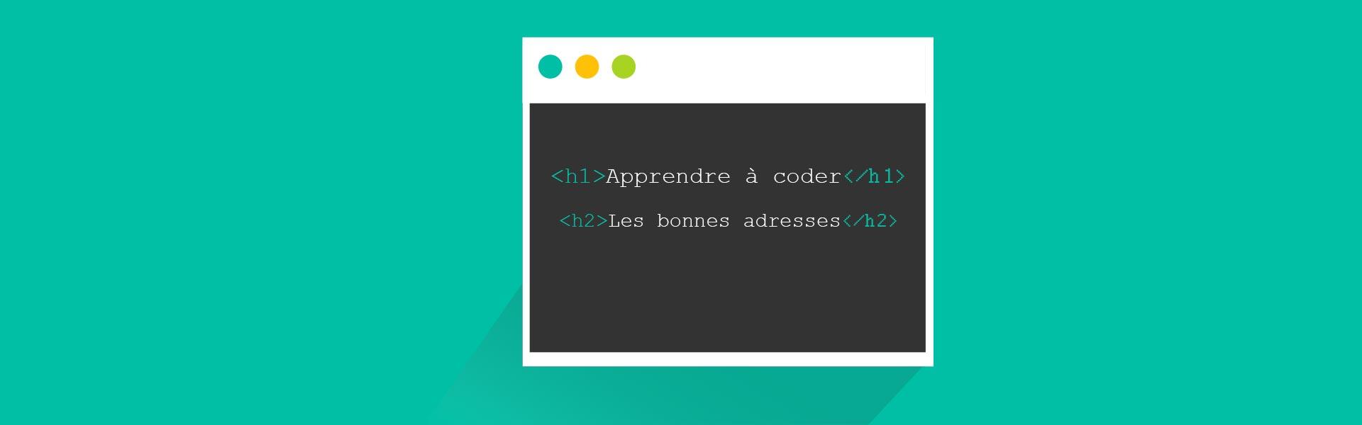 Article - Apprendre à coder : les bonnes adresses